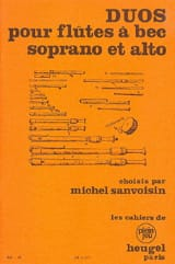 - Duos for Soprano and Alto Recorders - Sheet Music - di-arezzo.com