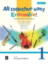 All Together Easy Ensemble! Volume 1 James Rae laflutedepan.com