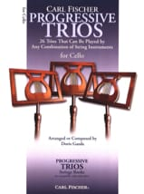Progressive Trios for Strings - Cello - Doris Gazda - laflutedepan.com