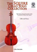 Squire Cello Solo Collection William Henry Squire laflutedepan.com