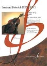 Bernhard Heinrich Romberg - Sonate N°2 en Ut Majeur Op.43 - Partition - di-arezzo.fr