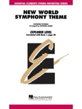 DVORAK - Theme From New World Symphony - Score - Parts - Sheet Music - di-arezzo.com