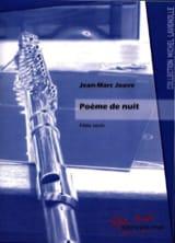 Poème de Nuit Jean-Marc Jouve Partition laflutedepan.com