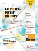 Le Tout Petit Ebony - Alexis Ciesla - Partition - laflutedepan.com