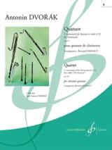 Antonin Dvorak - 4ème Mouvement du Quatuor Américain N°12 Op. 96 - Partition - di-arezzo.fr