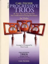 Progressive Trios For Strings - Violons Doris Gazda laflutedepan.com