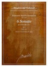 Francesco Saverio Geminiani - 6 Sonate Opus 5 - Noten - di-arezzo.de