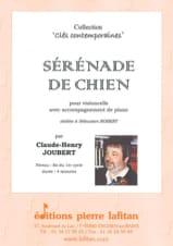 Sérénade de Chien Claude-Henry Joubert Partition laflutedepan.com