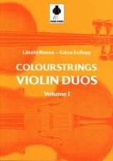 Violin Duos Vol 1 Laszlo et Szilvay Géza Rossa Partition laflutedepan