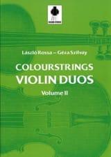 Laszlo et Szilvay Géza Rossa - Violin Duos Vol 2 - Sheet Music - di-arezzo.com