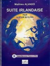 Suite Irlandaise Mathieu Alvado Partition laflutedepan.com