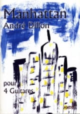 André Dillon - Manhattan - 4 Guitares - Partition - di-arezzo.fr