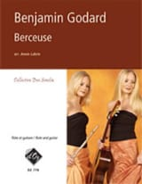 Berceuse Benjamin Godard Partition Duos - laflutedepan.com