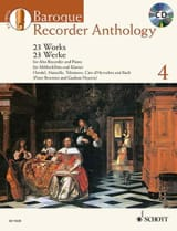Baroque Recorder Anthology Volume 4 Partition laflutedepan.com