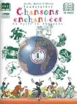 Chansons Enchantées Volume 4 Partition Solfèges - laflutedepan.com