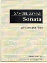 Sonata Samuel Zyman Partition Flûte traversière - laflutedepan.com
