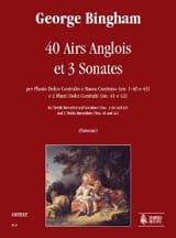 40 Airs Anglois et 3 Sonates - Score & Parts laflutedepan.com