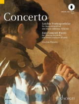 Concerto, Easy Concert Pieces - Partition - laflutedepan.com