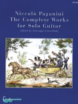 Complete Solo Guitar Works Niccolò Paganini Partition laflutedepan.com