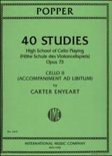 40 Studies Op.73 - Accompagnement Violoncelle 2 - laflutedepan.com