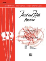 Samuel Applebaum - 3th And 5th Position String Builder - Violin - Sheet Music - di-arezzo.co.uk