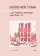 Marc-Antoine Charpentier - Magnificat H78 - Partition - di-arezzo.fr