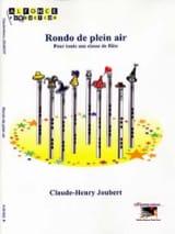 Rondo de Plein Air Claude-Henry Joubert Partition laflutedepan.com