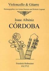 Cordoba ALBENIZ Partition 0 - laflutedepan