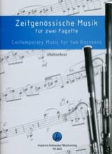 - Contemporary Music For 2 Bassoons - Sheet Music - di-arezzo.com