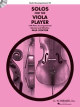 Solos For The Viola Player Paul Doktor Partition laflutedepan.com