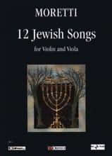 12 Jewish Songs - Riccardo Joshua Moretti - laflutedepan.com