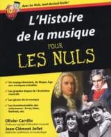 L'Histoire de la Musique pour les Nuls Partition laflutedepan.com
