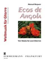 Ecos de Angola Inclus Manuel Negwer Partition laflutedepan.com