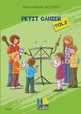 Petit Cahier de Révision Volume 2 SICILIANO Partition laflutedepan.com
