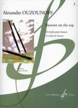 Bassoon On The Top Volume 2 Alexandre Ouzounoff laflutedepan.com