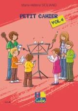 Petit Cahier de Révision Volume 4 SICILIANO Partition laflutedepan.com