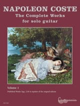 Napoléon Coste - The Complete Works For Solo Guitar Volume 1 - Partition - di-arezzo.fr