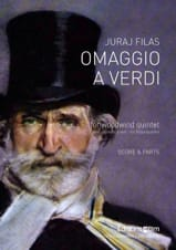 Omaggio a Verdi Juraj Filas Partition Quintettes - laflutedepan.com
