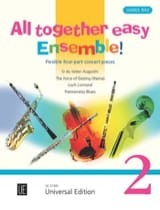 All Together Easy Ensemble ! Volume 2 James Rae laflutedepan.com