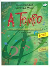 A Tempo Volume 8 - Ecrit BOULAY - MILLET Partition laflutedepan.com