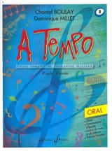 A Tempo Volume 8 - Oral BOULAY - MILLET Partition laflutedepan.com