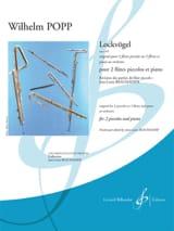 Lockvögel Opus 449 - Wilhelm Popp - Partition - laflutedepan.com
