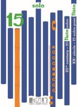 15 Solos pour Flûte du 20ème Siècle Partition laflutedepan.com