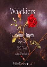 12 Kleine Duette, Op. 55 Heft 1 Eugene Walckiers laflutedepan.com