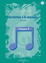 Jean-François Alexandre - Invitation A la Musique - Volume 8 - Partition - di-arezzo.fr