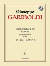 Six Duos Faciles Op. 145 Giuseppe Gariboldi laflutedepan.com