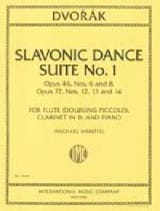 Slavonic Dance Suite N° 1 Antonin Dvorak Partition laflutedepan.com