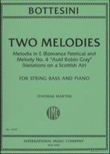 Two Melodies Giovanni Bottesini Partition laflutedepan.com