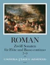 Johan Helmich Roman - 12 Sonates - Volume 3 - Partition - di-arezzo.fr
