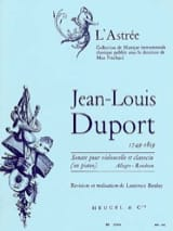 Jean Louis Duport - Cello Sonata for Cello and Piano - Sheet Music - di-arezzo.co.uk
